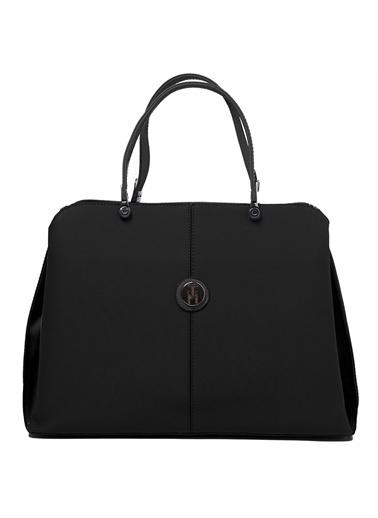 TH Bags   Kadın Omuz Çantası Th-Yk14205  Siyah